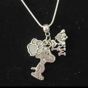 Luxury Brand Jewelry - I ❤ My Dog 🐶 .925 Sterling Silver Necklace